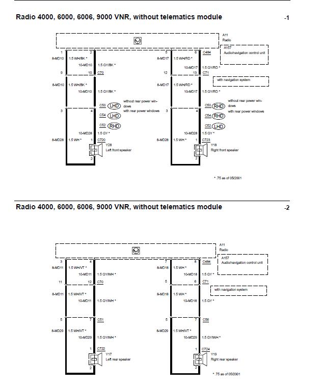 Схема подключения динамиков